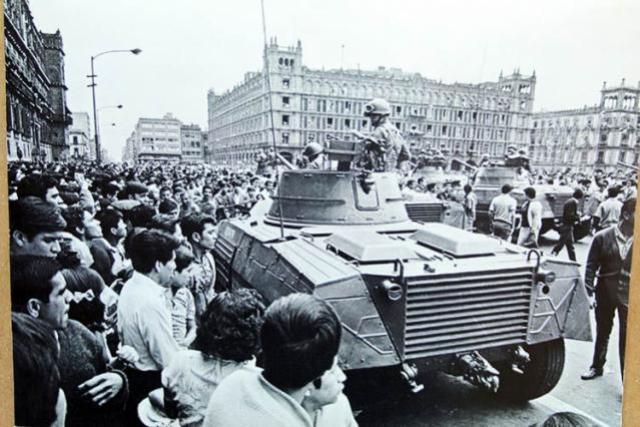 Participación en el movimiento estudiantil de 1968