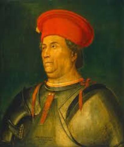 Francesco Sforza Takes Control of Milan