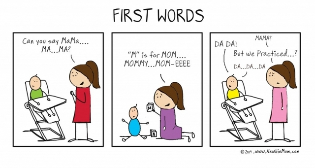 Infancy - First Words - Cognitive