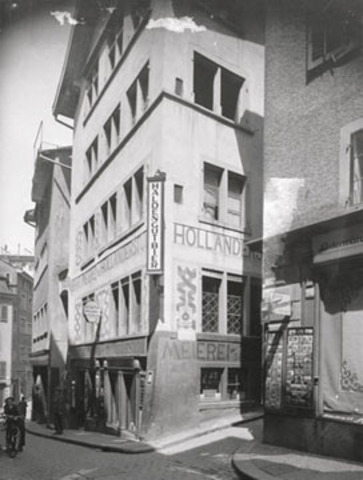 Cabaret Voltaire is founded