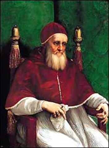 Pope Julius II Takes the Papal Throne