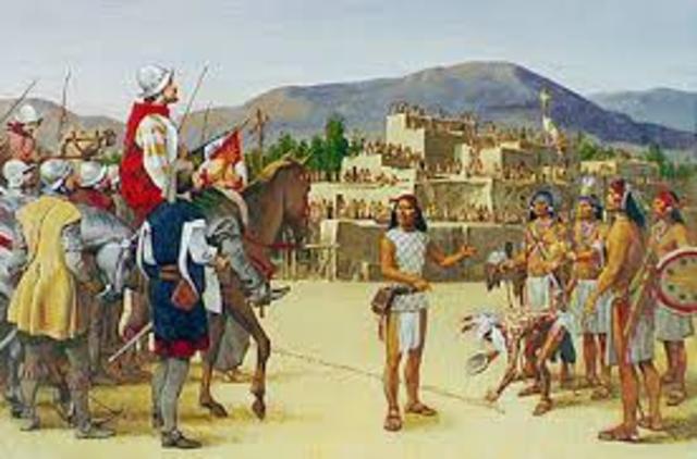 The Turk Runs Away From Coronodo