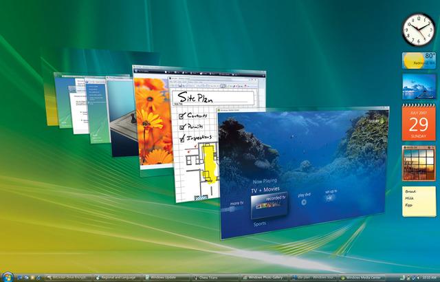 Lanza Windows Vista