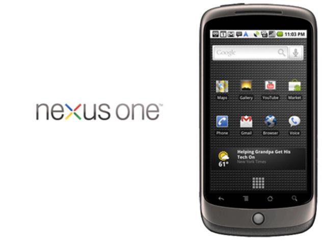 Google lanza su celular Nexus One