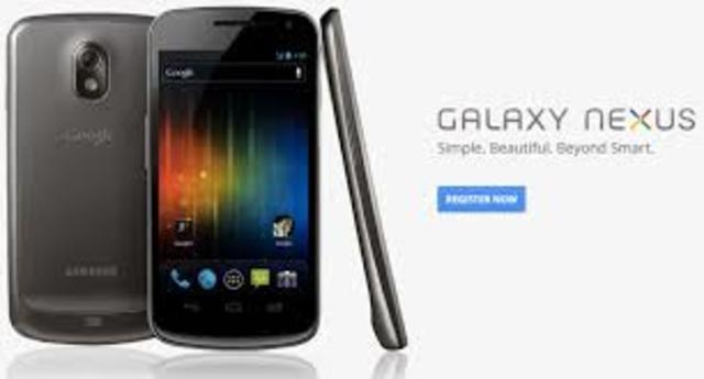 Se lanza el celular Galaxy Nexus