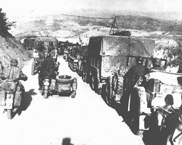 Invasión a Yugoslavia y Grecia.