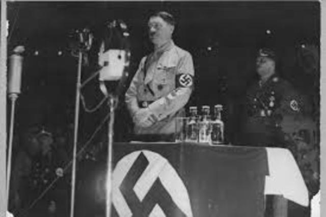 30 de enero: Hitler es nombrado canciller