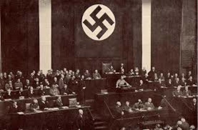 23 de marzo: Se aprueba en Alemania la Ley Facultativa