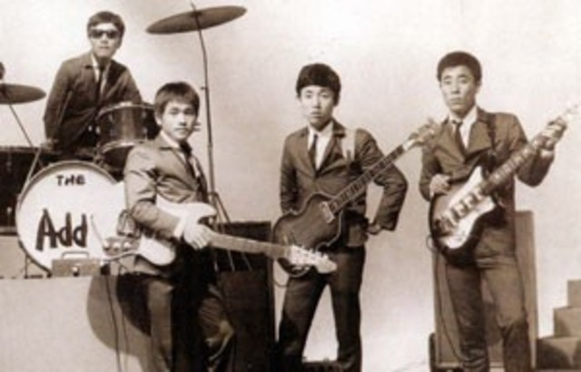 The first Korean rock band: Add4