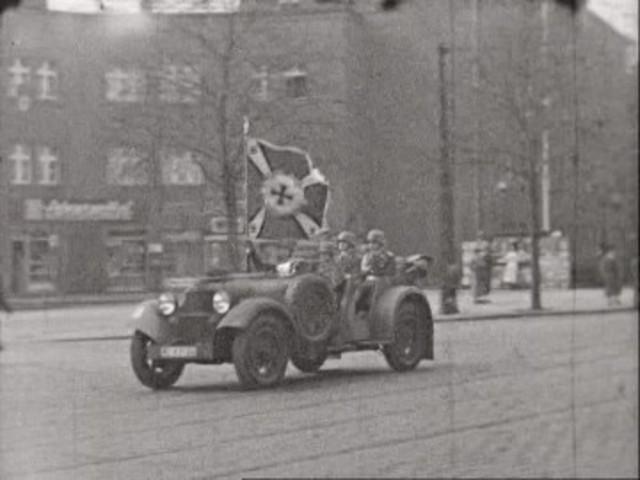 Visita de Mussolini a Berlín.