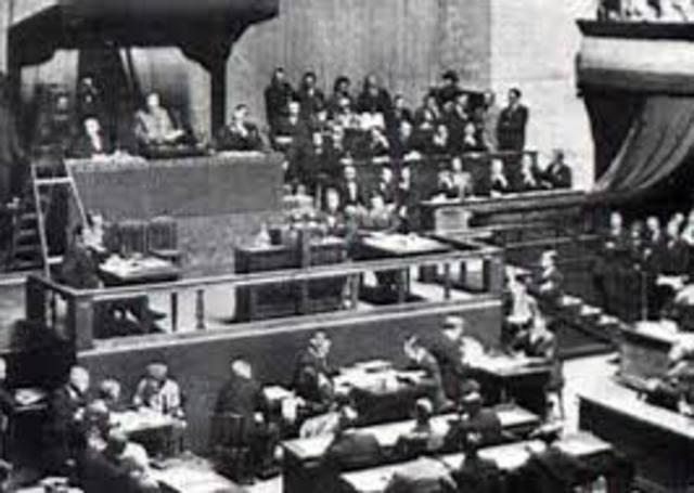 Alemania abandona la Sociedad de Naciones