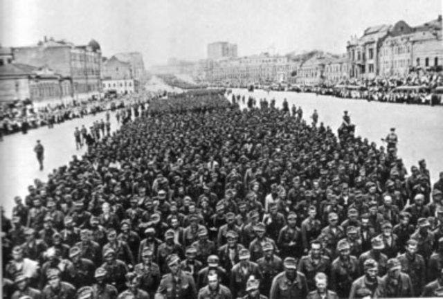 Rendición de tropas alemanas