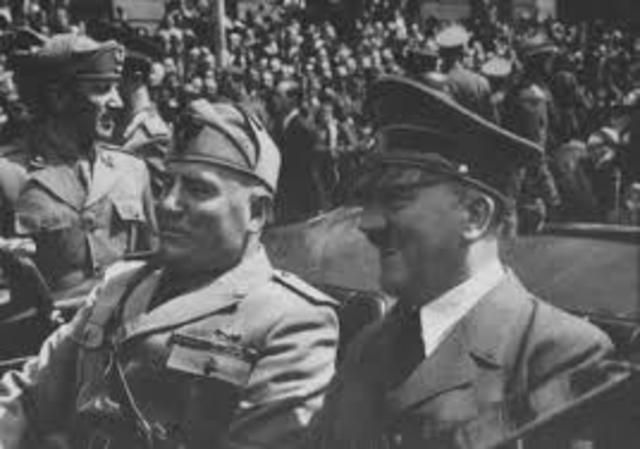 Entrevista Hitler-Mussolini.