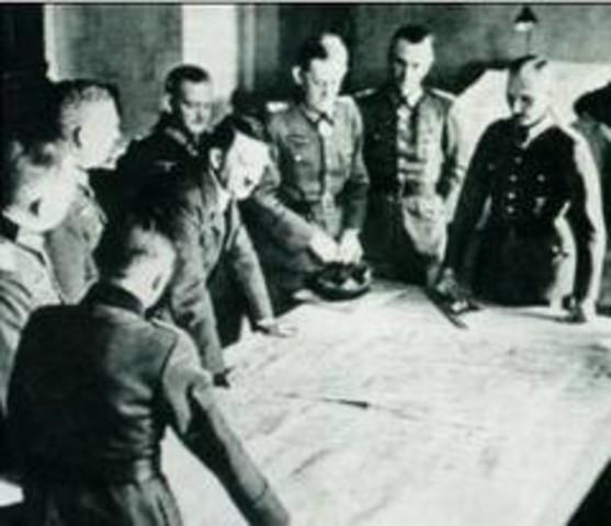Entrevista Hitler-Chamberlain en Berchtesgaden.