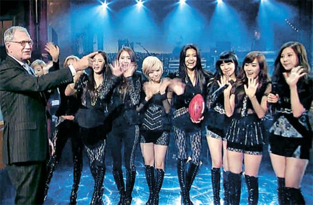 K-pop hits US Television