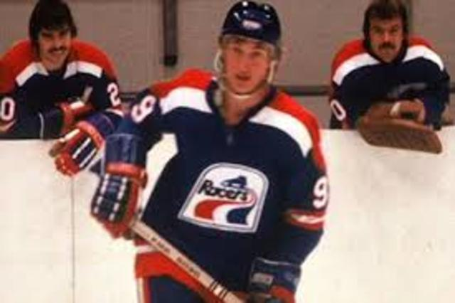 Signing with the Indianapolis Racers