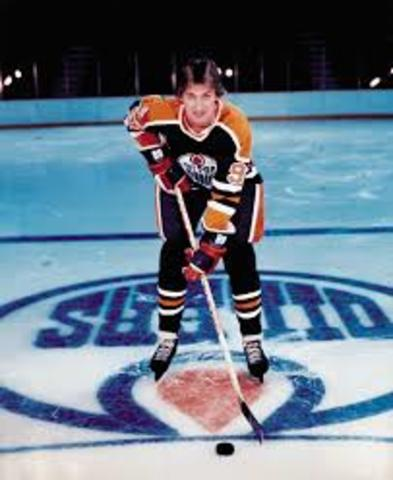 Gretzky's 1st NHL game