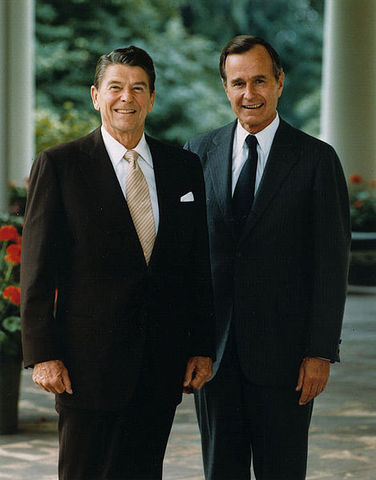 H.W. continues the Golden Era of Reagan