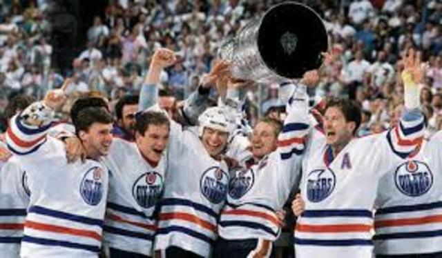 Oilers Win Stanley Cup