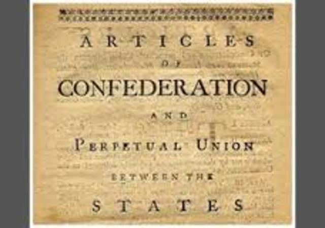 Articles of Confederation: Created/Adopted