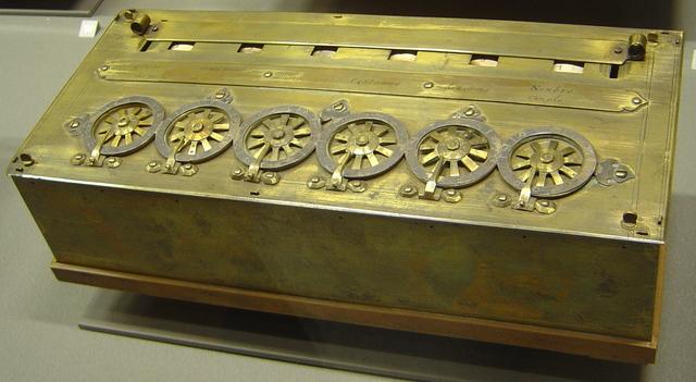 Máquina de calcular de Pascal (Pascaline)