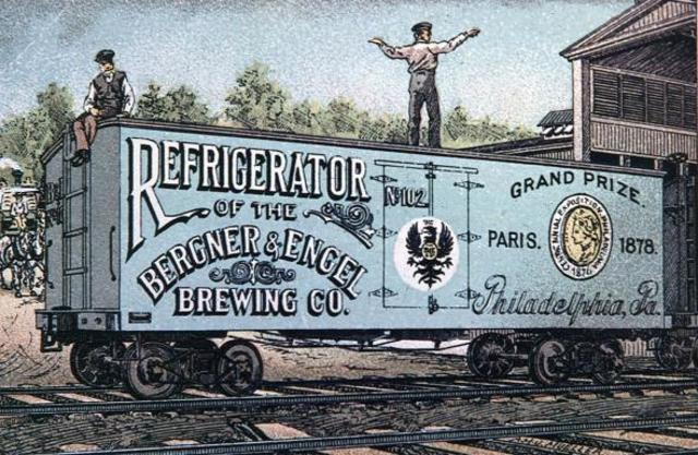 Refridgerated Railcar