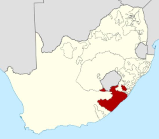 Rolihlahla Mandelaren jaiotza