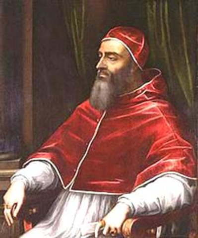 Pope Clement VII Takes  the Throne