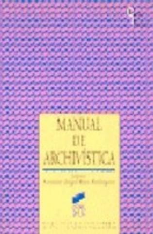 PRIMER MANUAL DE ARCHIVISTICA