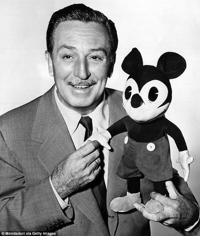 Walt Disney's  Steamboat Willie is create