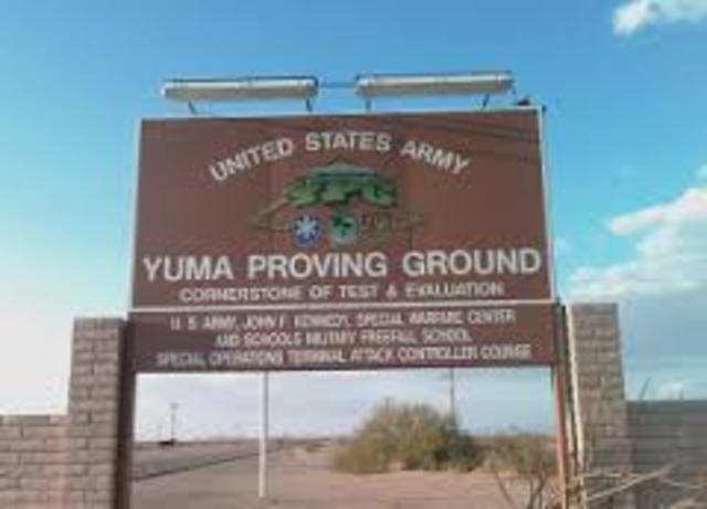 US Army Yuma Proving Grounds