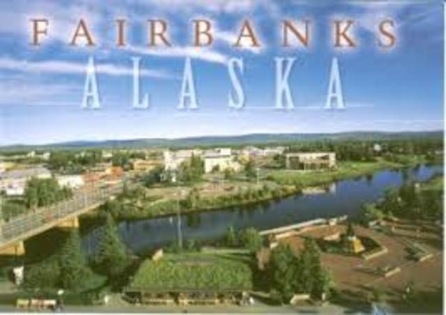 Greetings from Fairbanks