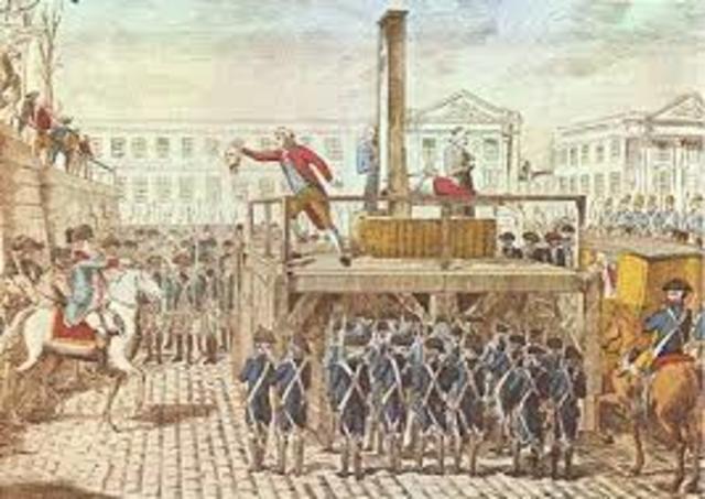 Execution of Luis XVI