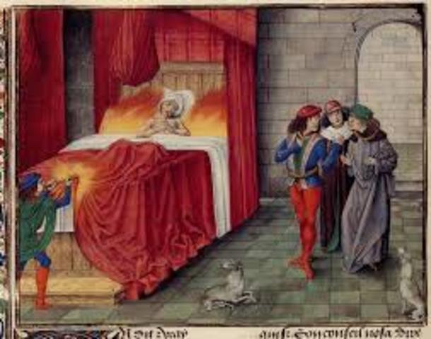 Charles II's death