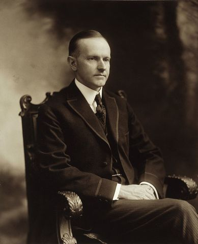 Calvin Coolidge elected president