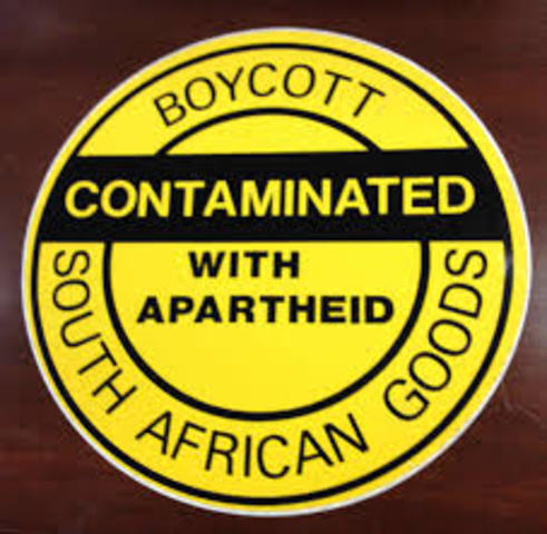 Sanctions on South African Goods