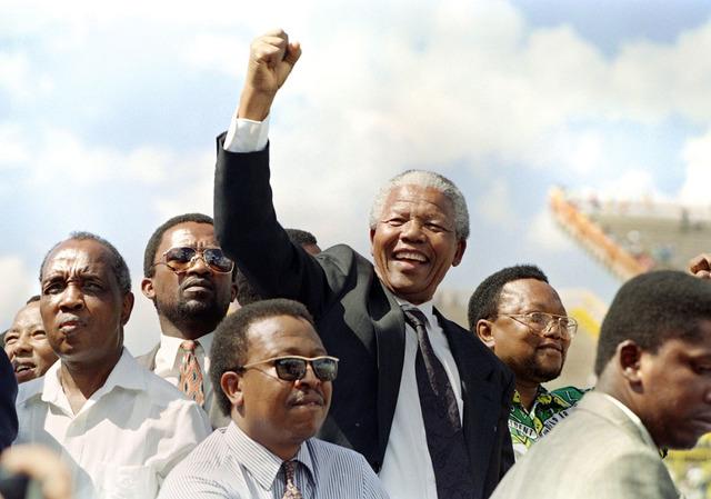 Nelson Mandela is Inaugurated