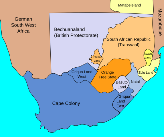The British Claim the Cape Colony