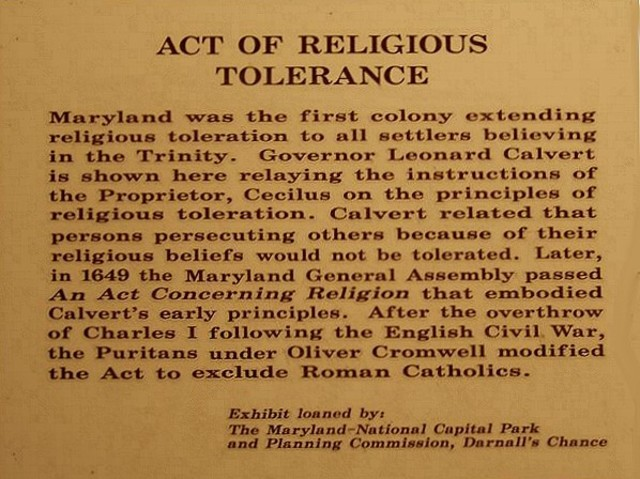 The Toleration Act