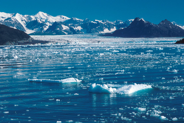 Ice from Columbia Glacier