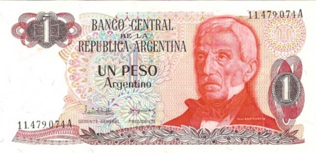 """Argentina ECO: Entra en vigencia un nuevo signo monetario, el """"Peso Argentino""""."""