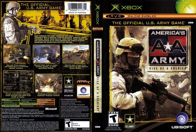 VIDEOJUEGO AMERICAN'S ARMY