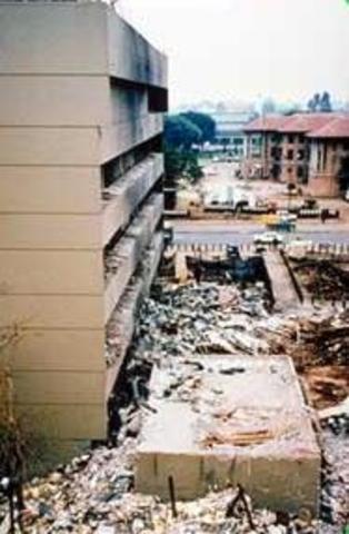 Simultaneous Bombings of U.S. Embassies