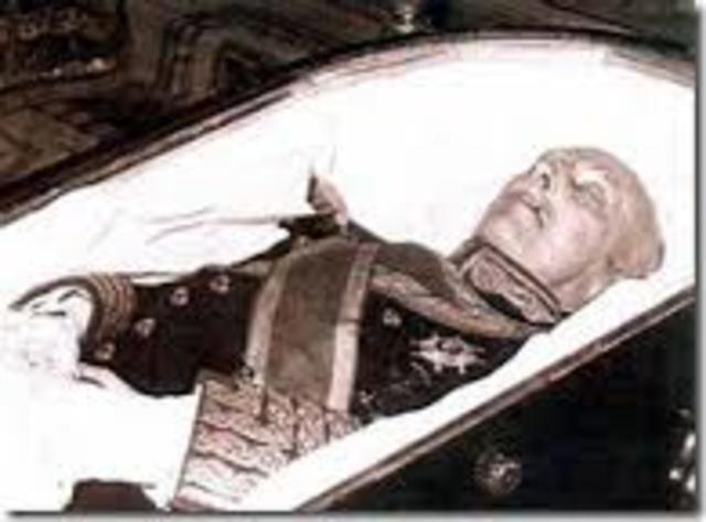 Politico: Muere Francisco Franco