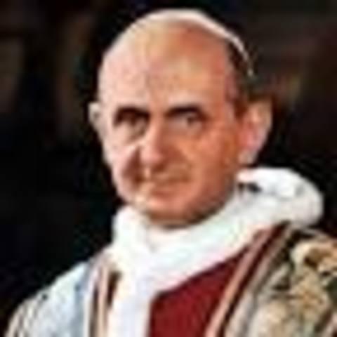 Cultural: muere el Papa Paulo