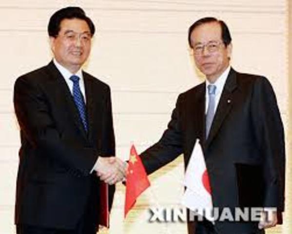 Politico: China y Japon firman un acuerdo de la paz.