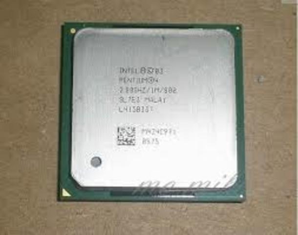 2004: El Intel Pentium 4 (Prescott)