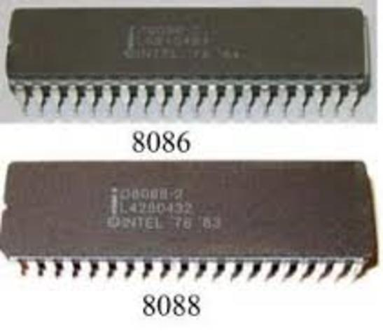 1978: Los Intel 8086 y 8088