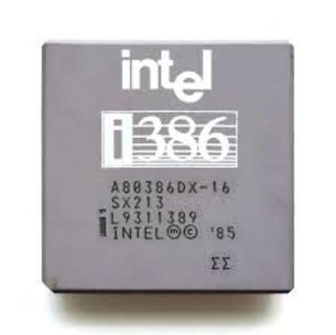 1985: El Intel 80386