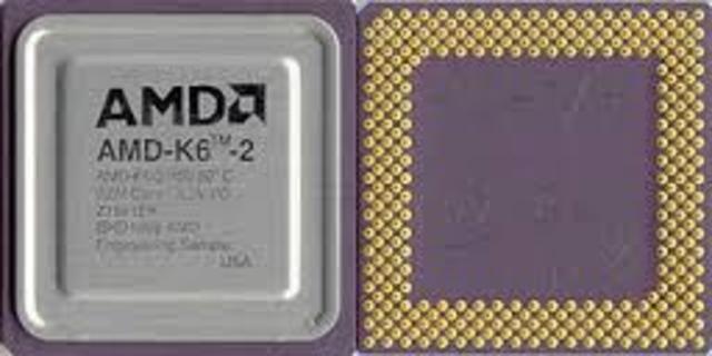1996: Los AMD K6 y AMD K6-2